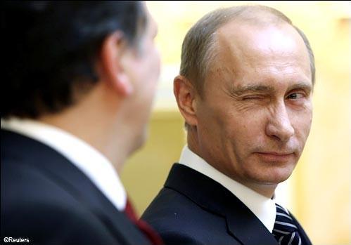 Putin's blink