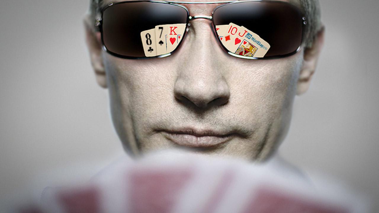 putin poker bluff