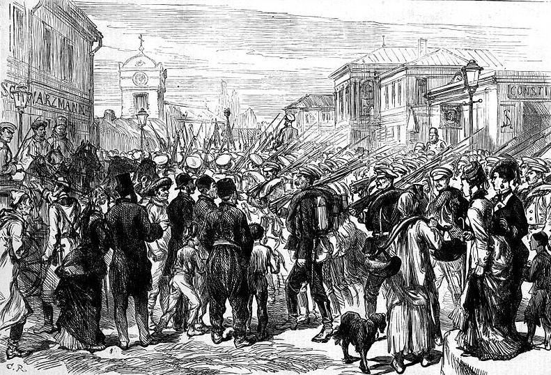 Soldati rusi 1877