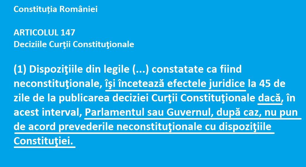 art 147 constitutie