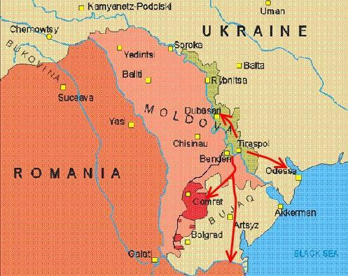Căscaţi ochii la Odessa! E poarta spre Transnistria şi Moldova — Moise.ro