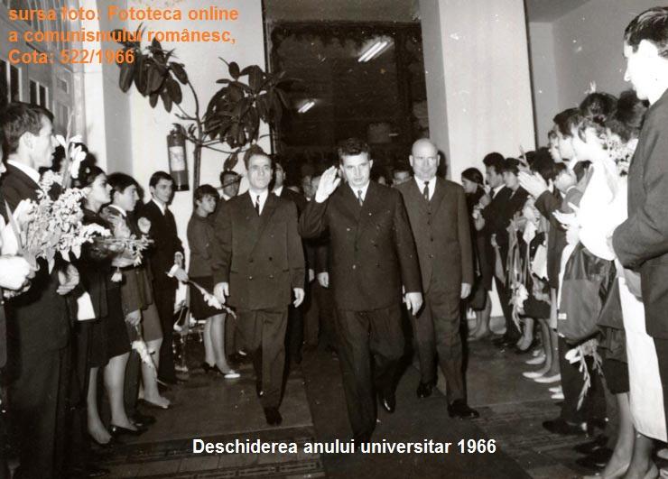 ceausescu studenti